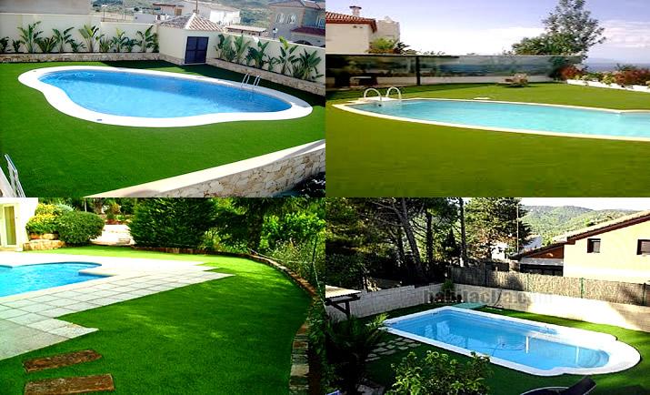 Grass sint tico para piscinas en lima peru 355 8404 ventas for Construccion de piscinas en lima